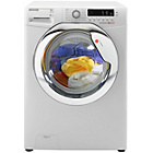 more details on Hoover DXCC49W3 9KG 1400 Washing Machine- White/Ins/Del/Rec.