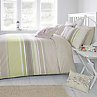 more details on Dreams N Drapes Falmouth Green Duvet Cover - Superking.