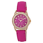 more details on Tikkers Pink Glitter Dial Pink Strap Girls' Watch.