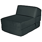 more details on ColourMatch Single Chairbed - Jet Black.