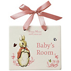 more details on Beatrix Potter Flopsy Bunny Door Plaque.