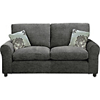 more details on Tabitha Large Fabric Sofa - Charcoal.