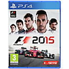 more details on F1 2015 PS4 Game.