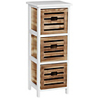 more details on Premier Housewares Portsmouth 3 Drawer Storage Chest.