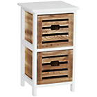 more details on Premier Housewares Portsmouth 2 Drawer Storage Chest.