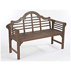 more details on Lutyens Style Hardwood Garden Bench - Grey.