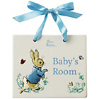 more details on Beatrix Potter Peter Rabbit Door Plaque.