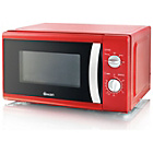 more details on Swan SM4001REDN Standard Microwave - Red