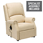 more details on Chicago Riser Recliner Chair with Single Motor - Beige.