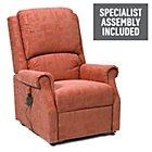more details on Chicago Riser Recliner Chair with Single Motor - Terracotta.