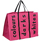 more details on Premier Housewares Hot Pink Polyester Laundry Bag.