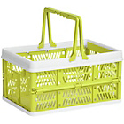 more details on Premier Housewares Lime Green Folding Storage Basket.
