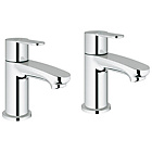 more details on Grohe Wave Cosmopolitan Basin Pillar Taps.