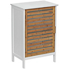more details on Premier Housewares Floorstanding Single Door Bamboo Cabinet.