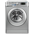 more details on Indesit XWE91483XS 9Kg 1400 Spin Washing Machine - Silver.