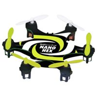 Revell Nano Hex Copter Remote Control Drone (Black and Yellow)