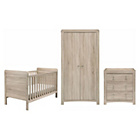 more details on East Coast Nursery Fontana 3 Piece Cotbed Room Set.