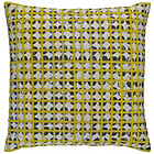 more details on Habitat Griddy Cushion - Yellow and Grey.