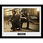 more details on GB Eye Walking Dead Rick and Daryl Framed Print.