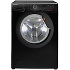 more details on Hoover DXC4E47B3 7KG 1400 Washing Machine- Black/Ins/Del/Rec
