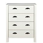 more details on Marlow 4 Drawer Chest - White.