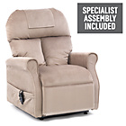 more details on Boston Riser Recliner Chair with Single Motor - Oyster.