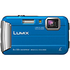 more details on Panasonic FT30 16MP Waterproof Camera - Blue.