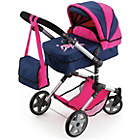 more details on Bayer Combi Dolls Pram - Pink and Blue.