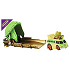 more details on TMNT Machines Launcher - Mikey Party Van.