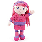 more details on Bayer 30cm Rag Doll - Pink and Purple.