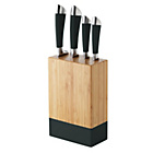 more details on ColourMatch 4 Piece Knife Block Set - Jet Black.