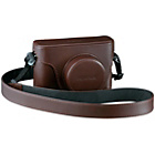 more details on Fujifilm X100T Premium Leather Case - Brown.