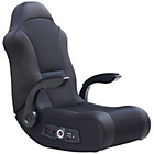 more details on X Rocker 2.1 Floor Rocker Gaming Chair - Black.