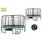 more details on Exit Jumparena 15FT Trampoline - Green Grey.