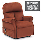 more details on Boston Riser Recliner Chair with Single Motor - Russet.