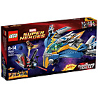 more details on LEGO Heroes Milano Spaceship Rescue - 76021.