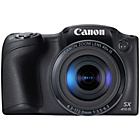 more details on Canon PowerShot SX410 20MP 40x Zoom Bridge Camera - Black.