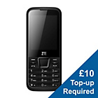 more details on Vodafone ZTE F320 Mobile Phone - Black.