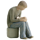 more details on Willow Tree New Dad Figurine.