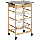 more details on Kitchen Trolley Drawer Wire Baskets.