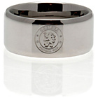 more details on Stainless Steel Chelsea Ring - Size R.