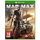 more details on Mad Max Xbox One Game.