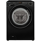 more details on Candy GV148D3B 8KG 1400 Washing Machine- Black/Ins/Del/Rec.