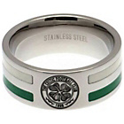 more details on Stainless Steel Celtic Striped Ring- Size U.