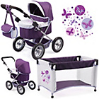 more details on Bayer Dolls Trendy Piccolina Pram Set.