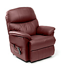 more details on Lars Rise and Recline Armchair - Burgundy.