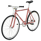 more details on Chill Bike 53cm with Silver Rims - Peach.