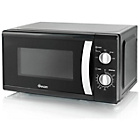 more details on Swan SM40010BLK Standard Microwave - Black.