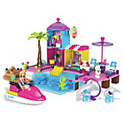 more details on Mega Bloks Barbie Pet Beach Boardwalk.