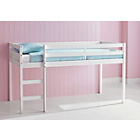 more details on Kaycie Single Midsleeper White Bed with Bibby Mattress.